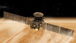 ESA-Marssonde geht in tieferen Orbit