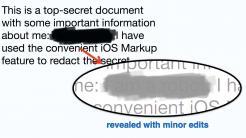 """iOS-Markierungsfunktion: Vorsicht beim """"Zensieren"""""""