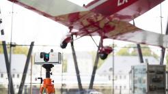 Artec Ray: Neuer Laserscanner soll auch Windturbinen und Flugzeuge erfassen