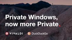 Vivaldi-Browser arbeitet mit DuckDuckGo-Suche