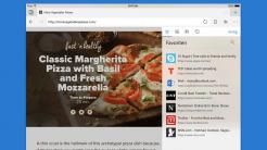 Microsoft Edge auf iPad