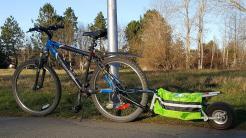 Fahrrad mit Caboost