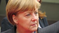 Bundeskanzlerin Angela Merkel (CDU) auf der Hannover Messe im April 2014.