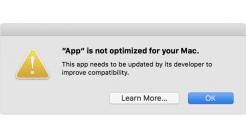 macOS: Apple warnt vor 32-Bit-Apps