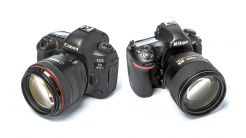 Test: DSRL-Kameras Nikon D850 und Canon EOS 5D Mark IV im Vergleich