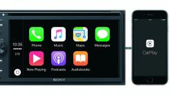 Sony-CarPlay-Receiver mit DVD-Funktion