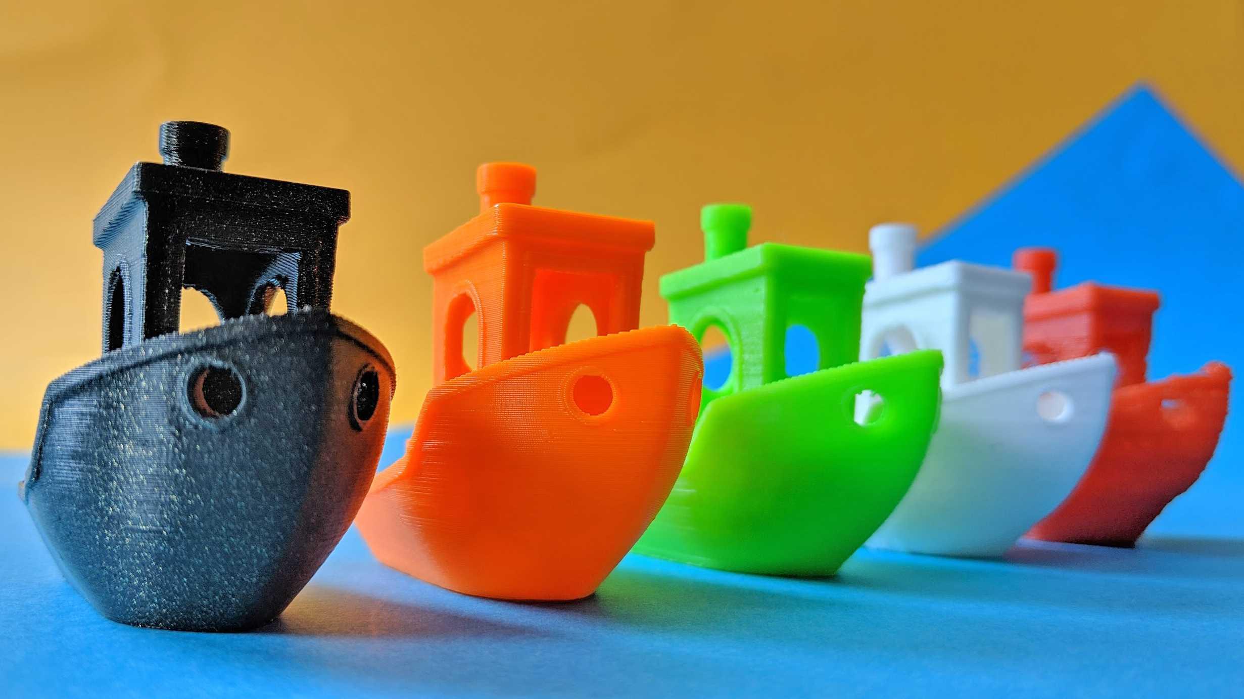 Vergleichstest: Sechs 3D-Drucker von 99 bis 600 Euro