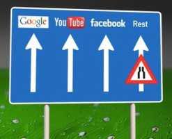 So illustrieren die Initiatoren der Kampagne ihre Befürchtungen für ein künftiges Internet.