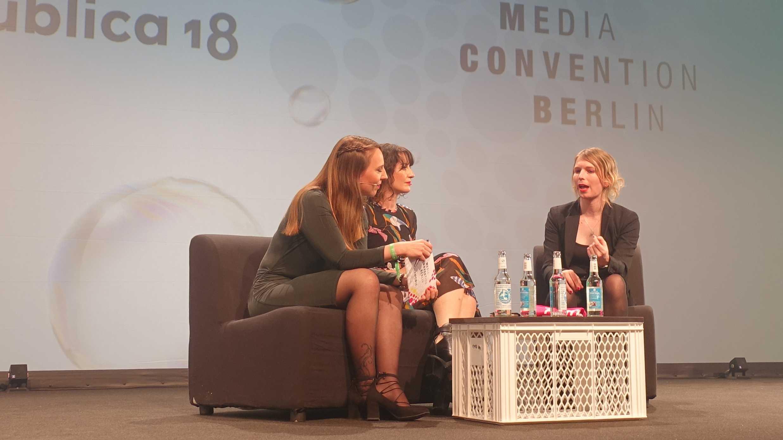 Chelsea Manning auf der re:publica: Programmierer sind mitschuldig, wenn ihre Software missbraucht wird