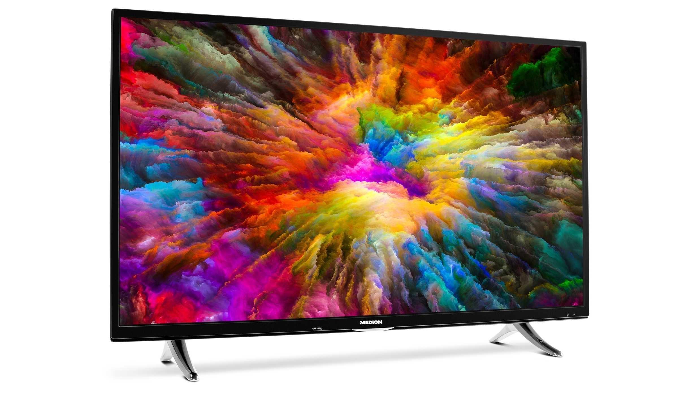 4K-TV bei Aldi: Smarter HDR-Fernseher im c't-Test