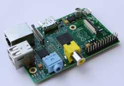 Raspberry Pi: ARM-Board im Scheckkartenformat.