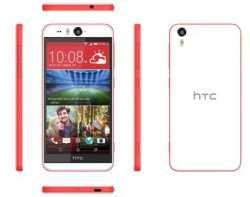 HTC Desire Eye mit Kameraauslöser, farbadaptivem Blitz und hochauflösender Selfie-Kamera