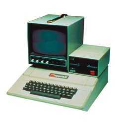 Apple II mit Monitor und Floppy [250 x 247 Pixel @ 10,1 KB]