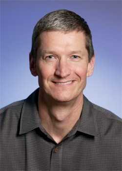 Fleißiger Apple-Manager und Platz 2 auf der Rangliste: Tim Cook (48)