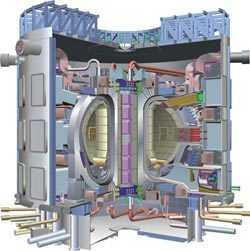 Der geplante ITER-Reaktor.