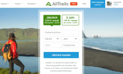 AllTrails Pro Abo