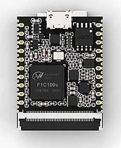 Das 8-Dollar-Board Sipeed Lichee Nano mit F1C100s hat die Größe einer SD-Karte.