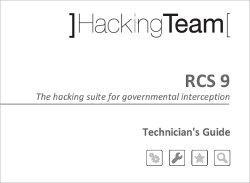 Aufschlussreich: Die Handbücher für die Überwachungssoftware von Hacking Team.