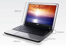 Das Dell Inspiron Mini 12 schließt die Lücke zwischen Netbooks und Subnotebooks.