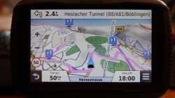 Warnung vor Navi-Nutzung auf A8 bei Stuttgart