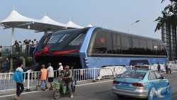 Chinas Transit Elevated Bus