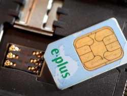SIM-Karte von E-Plus