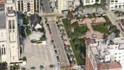 3D-Ansicht aus Apple Maps.