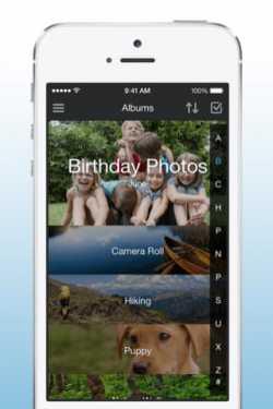 Amazon Cloud Drive auf dem iPhone.