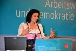Warb für die digitale Agenda der Bundesregierung: Staatssekretärin Dorothee Bär.