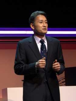 Kazuo Hirai, CEO Sony Corp.