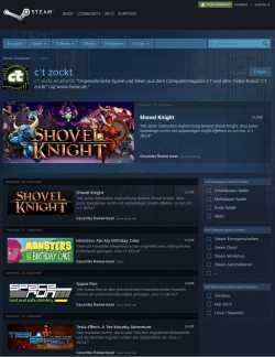 """Auf der Kurator-Liste """"c't zockt"""" finden Steam-Spieler originelle Indie-Spiele."""