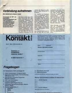 Deutsch-deutsche Kontaktbörse in der c't