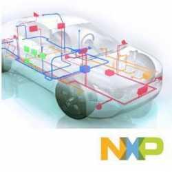 NXP-Technik im Auto.