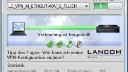 Lancom-VPN-Client unterstützt Windows-Tablets