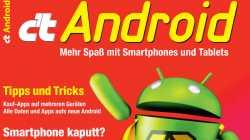 c't Android 2015: Google los werden, Smartphone-Reparatur