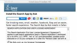 Oracle hängt Adware an den Java-Installer für Mac OS X