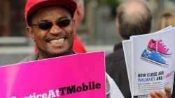 Proteste gegen T-Online US