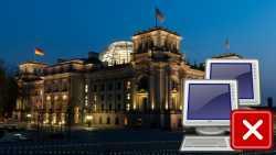Bundestagsnetz wird am 13. August abgeschaltet