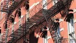 Feuerleiter, Gebäude, Stadt
