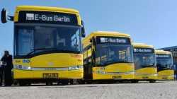 Erste Elektro-Linienbusse fahren durch Berlin