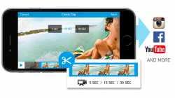 GoPro-App erstellt Kurzvideos zum Teilen