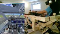 Fliegen üben wie die Profis – im Eigenbau-Simulator