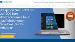 Windows 10: Abwrackprämie für alte Computer