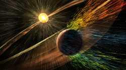 Sonnenausbrüche entreißen Mars die Atmosphäre