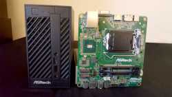 Mini-PC und Mainboard Asrock H110M-STX