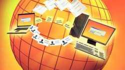genesisWorld x8 als betriebliche Info-Zentrale