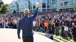 Apple feiert seinen Vierzigsten ? mit Bier und Piratenflagge