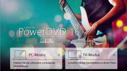PowerDVD 16: Streaming und Fernsehmodus, aber keine Ultra HD Blu-ray