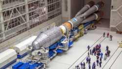 Erste Rakete startet von Russlands neuem Weltraumbahnhof Wostotschny