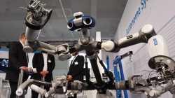Laufroboter für die Weltraum-Exploration